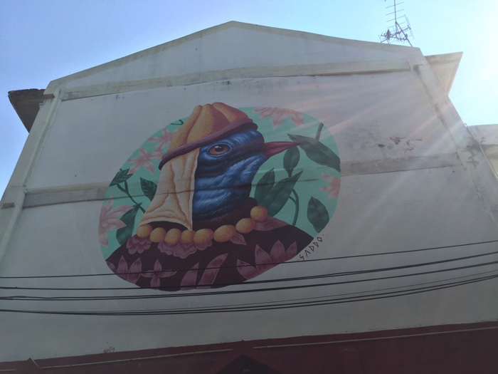 タイのストリートアート